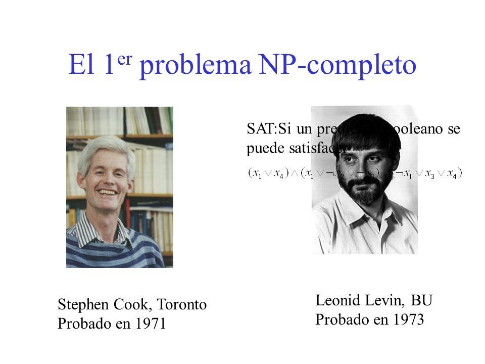 El 1er problema NP-completo
