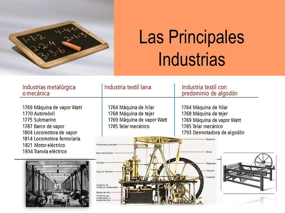 Las Principales Industrias