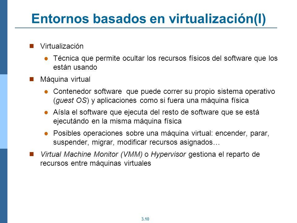 Entornos basados en virtualización(I)