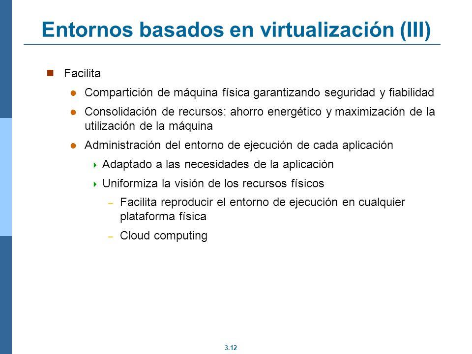 Entornos basados en virtualización (III)