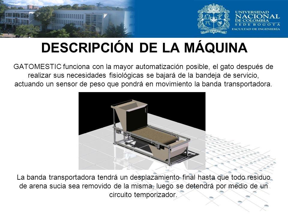 DESCRIPCIÓN DE LA MÁQUINA