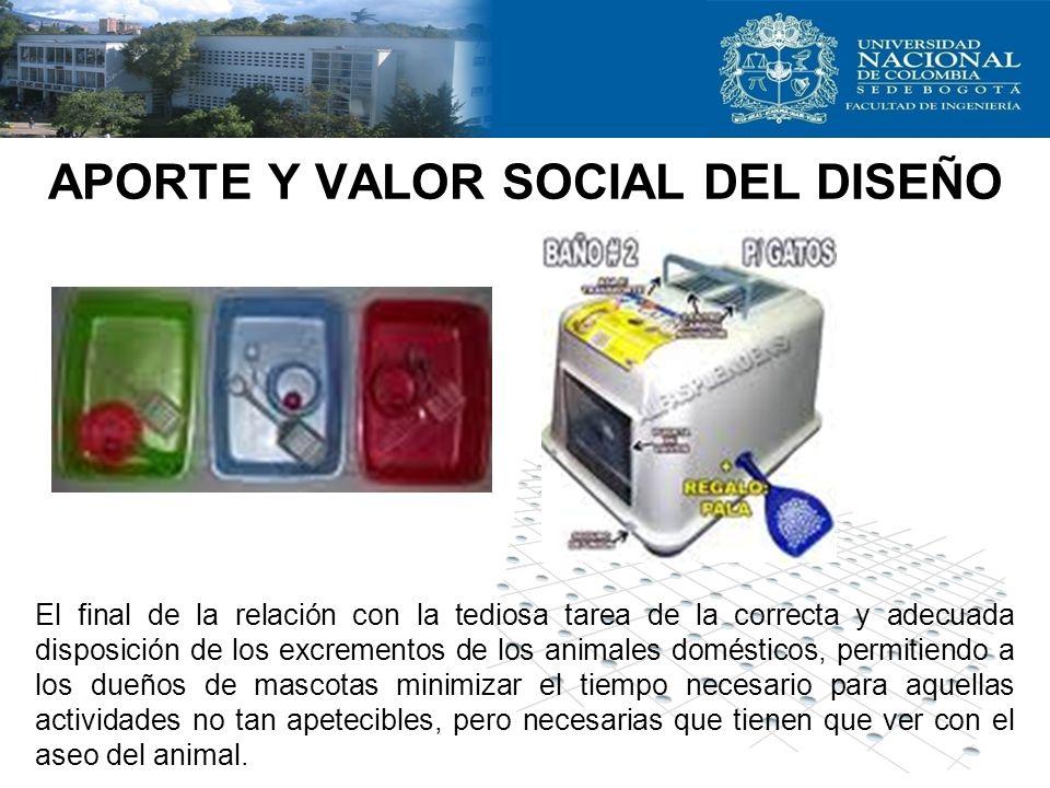APORTE Y VALOR SOCIAL DEL DISEÑO