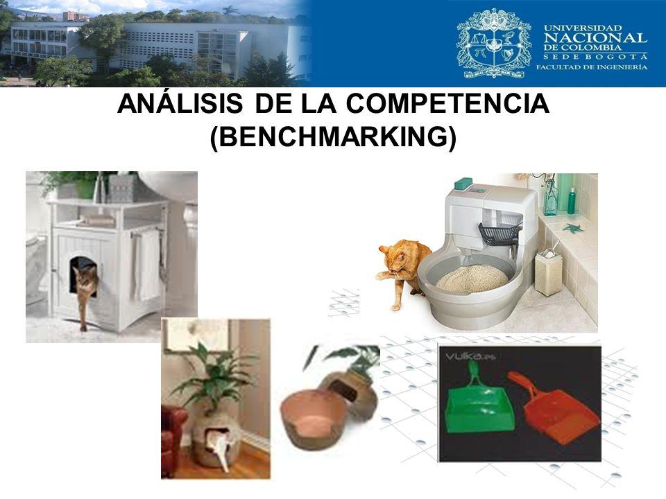 ANÁLISIS DE LA COMPETENCIA (BENCHMARKING)