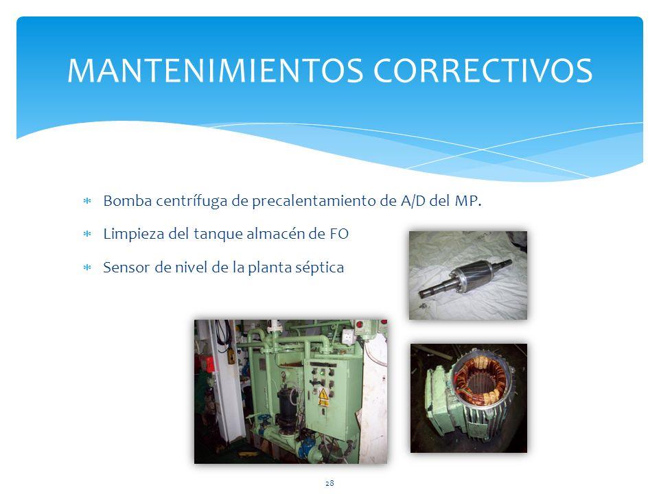 MANTENIMIENTOS CORRECTIVOS