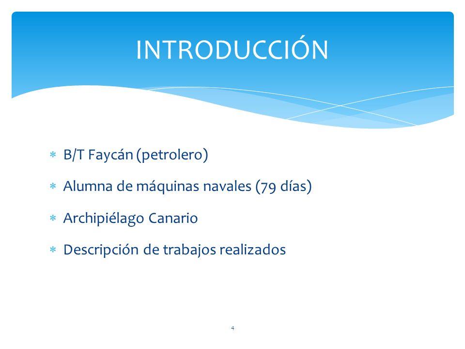 INTRODUCCIÓN B/T Faycán (petrolero)