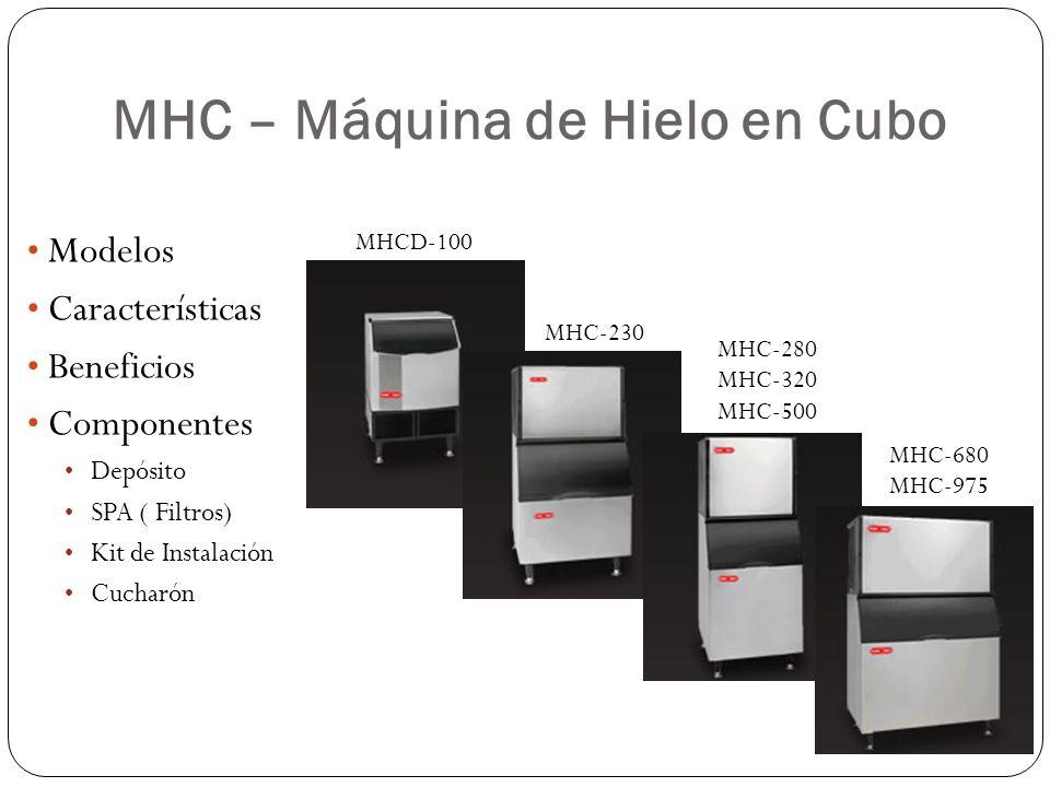 MHC – Máquina de Hielo en Cubo