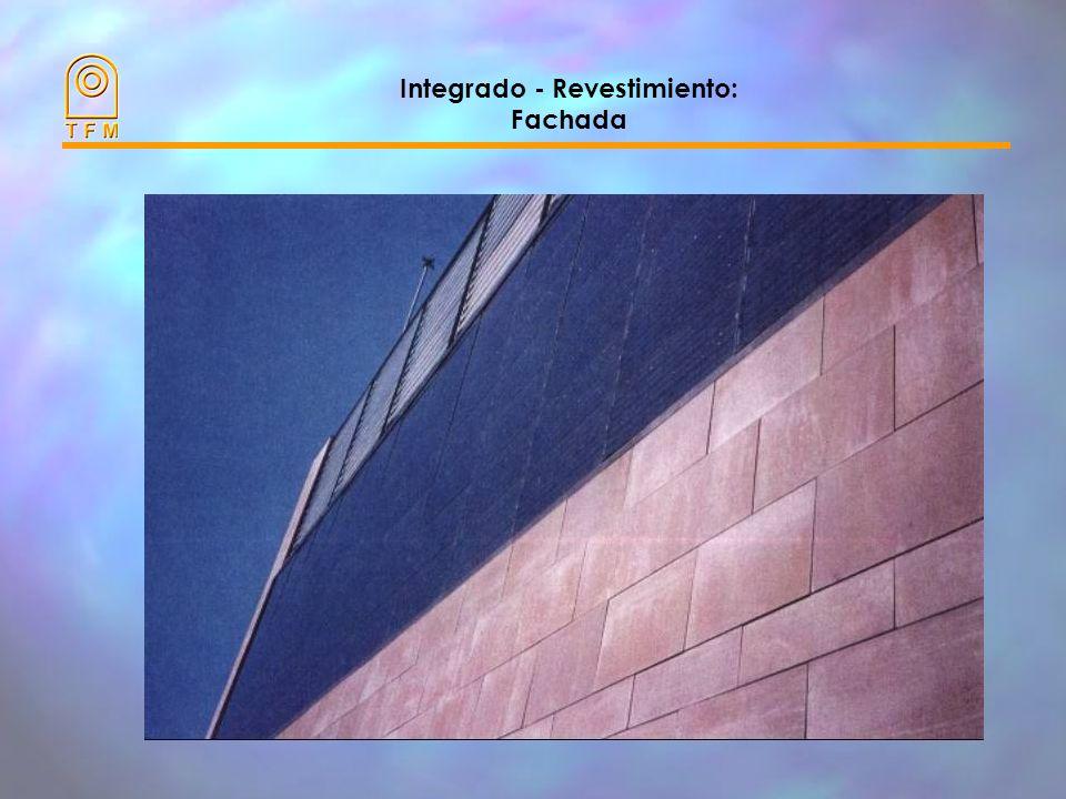Integrado - Revestimiento: Fachada