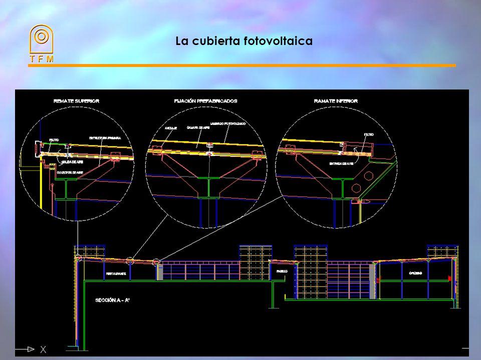 La cubierta fotovoltaica