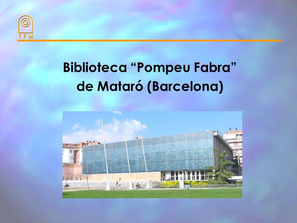 Biblioteca Pompeu Fabra de Mataró (Barcelona)