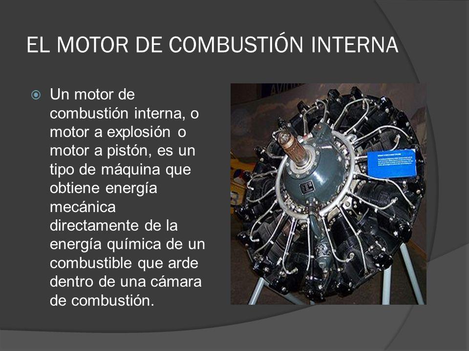 EL MOTOR DE COMBUSTIÓN INTERNA