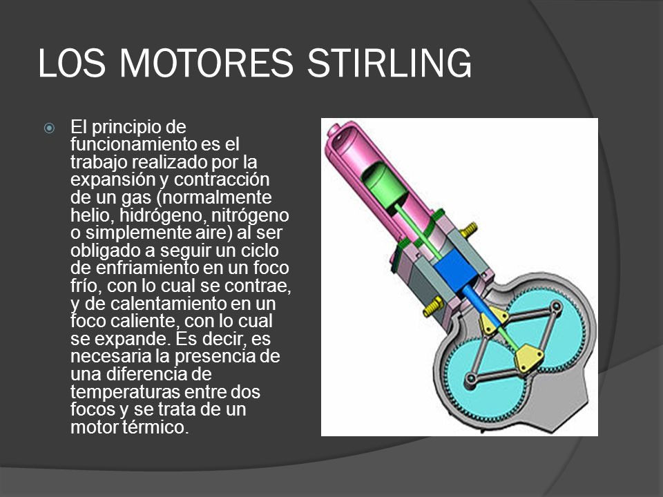 LOS MOTORES STIRLING