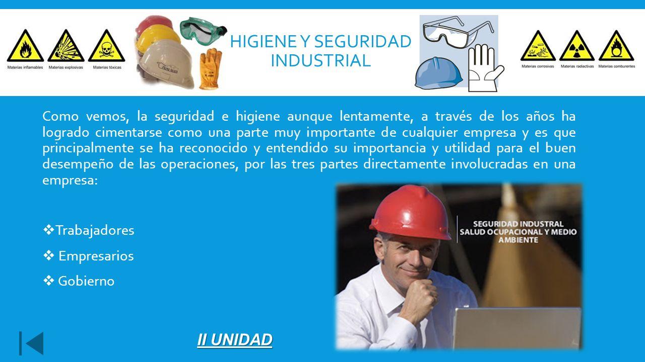 Higiene y seguridad industrial