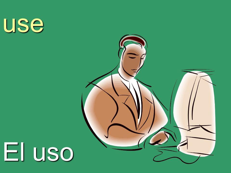 use El uso