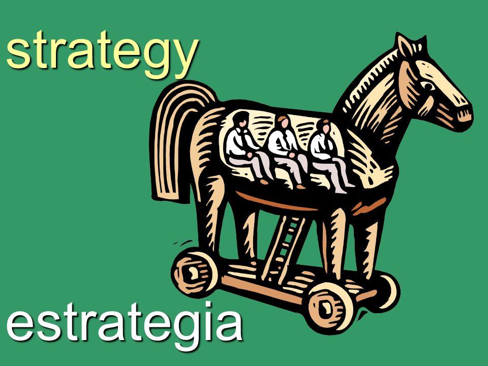 strategy estrategia