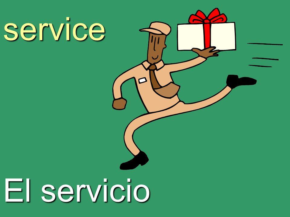 service El servicio