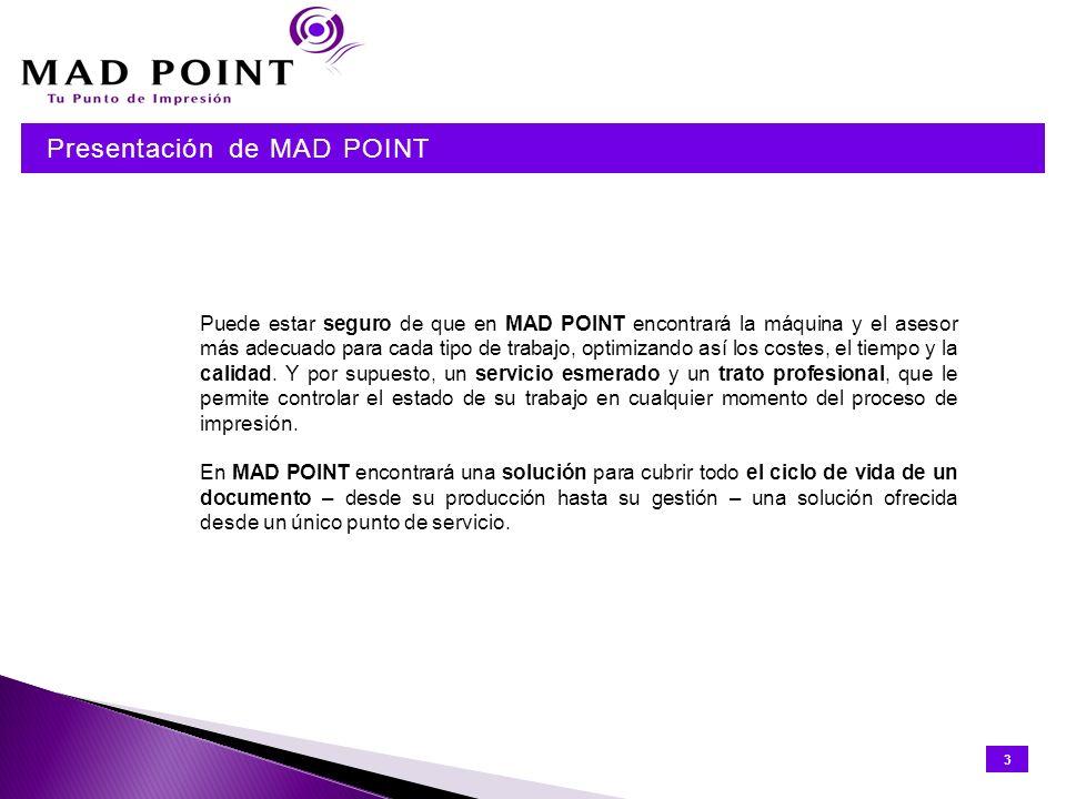 Presentación de MAD POINT