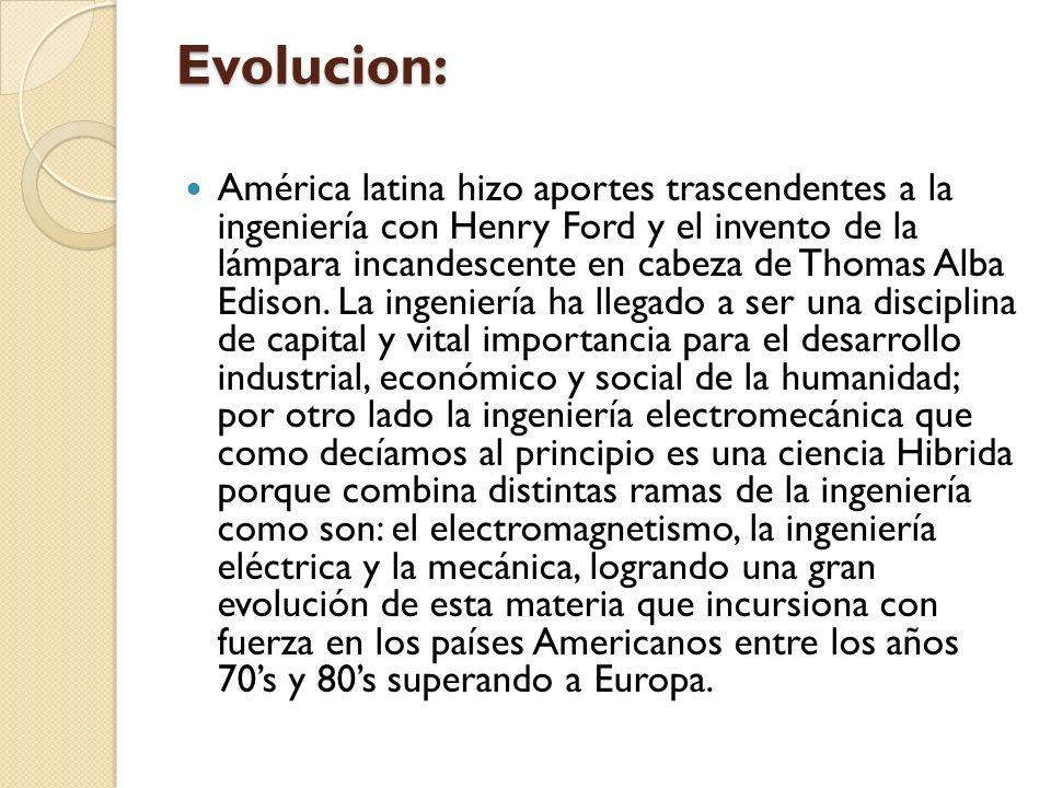 Evolucion: