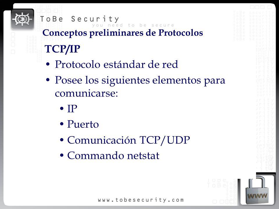 Protocolo estándar de red