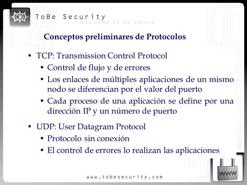 Conceptos preliminares de Protocolos