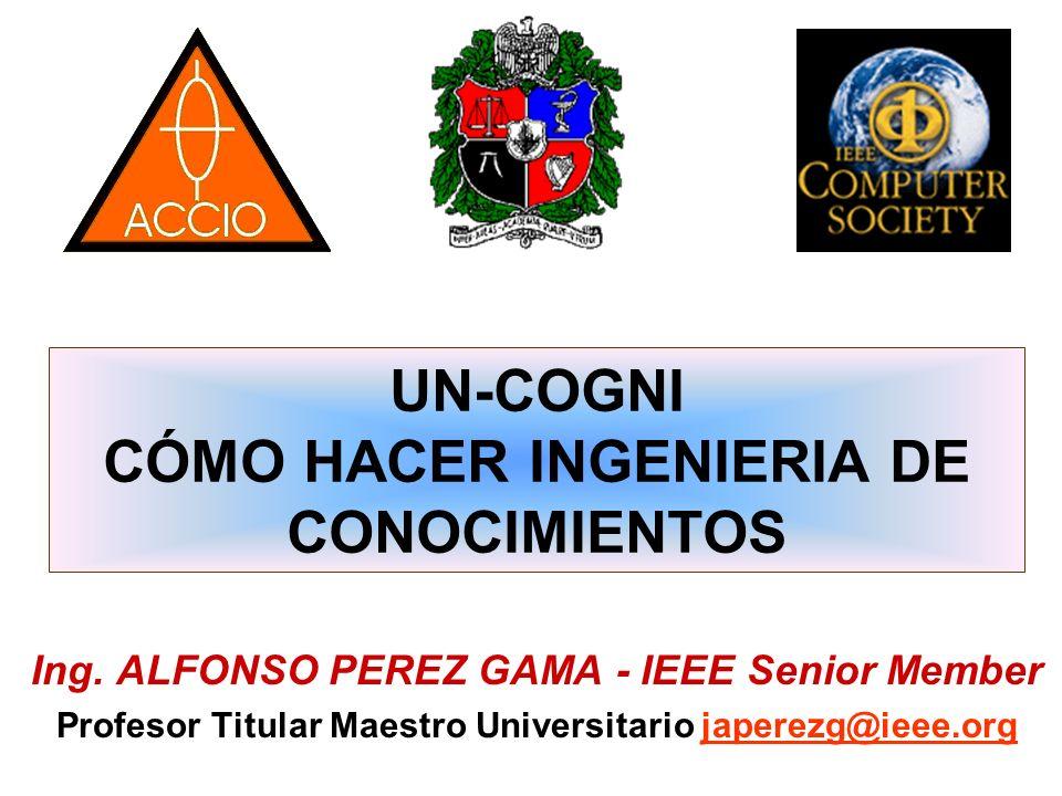 UN-COGNI CÓMO HACER INGENIERIA DE CONOCIMIENTOS