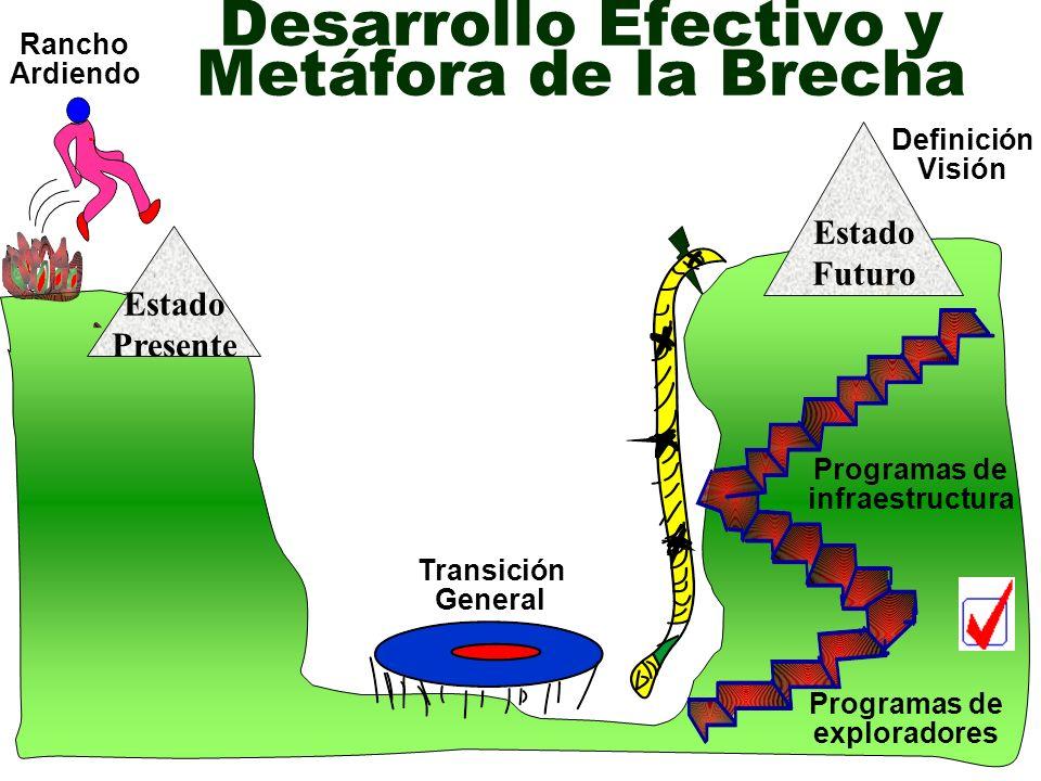 Desarrollo Efectivo y Metáfora de la Brecha