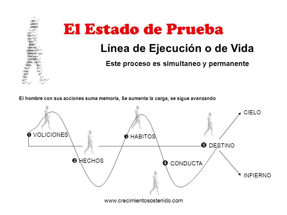 Línea de Ejecución o de Vida Este proceso es simultaneo y permanente