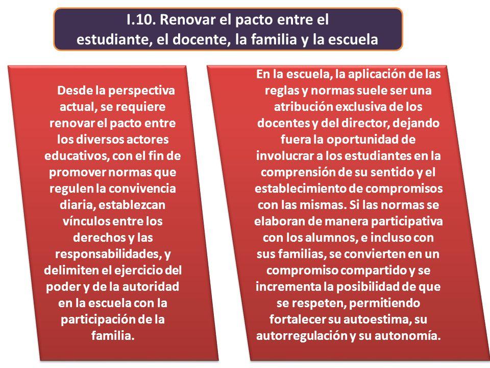 I.10. Renovar el pacto entre el