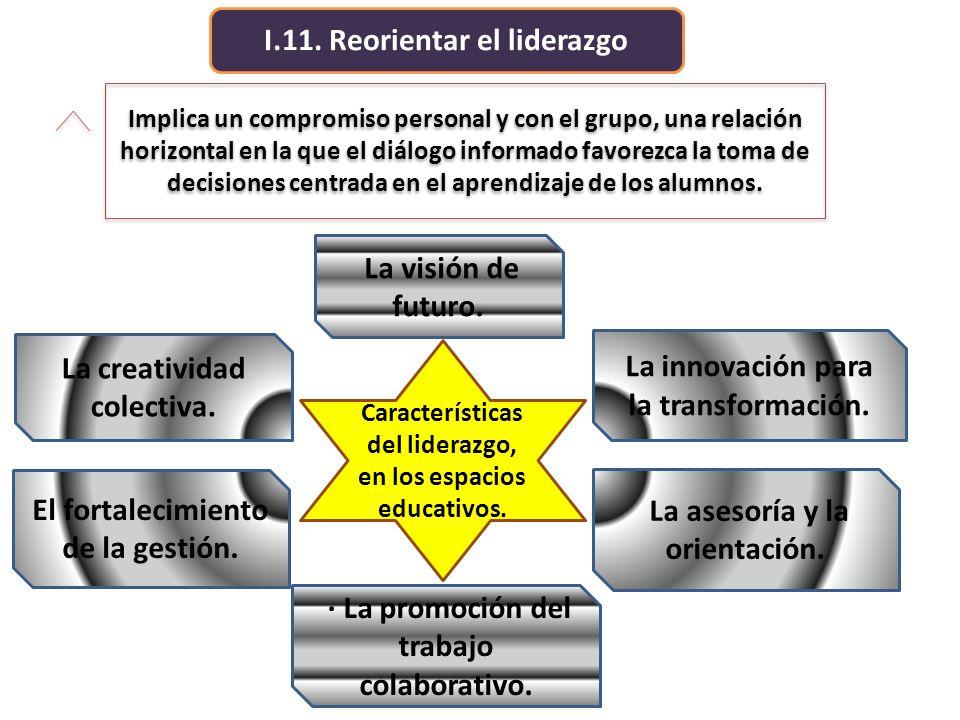 I.11. Reorientar el liderazgo