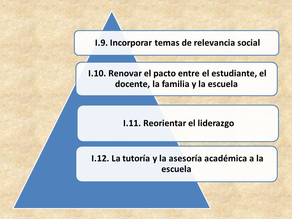 I.9. Incorporar temas de relevancia social