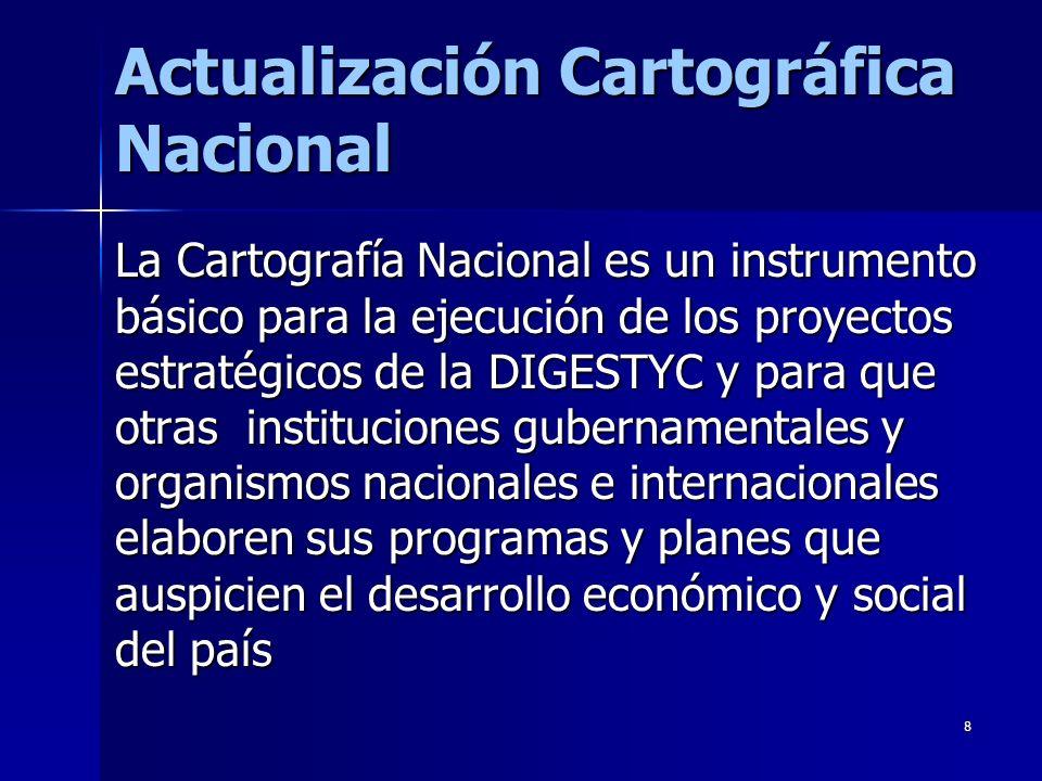 Actualización Cartográfica Nacional