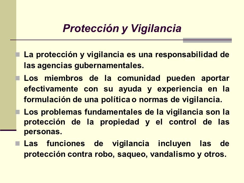 Protección y Vigilancia