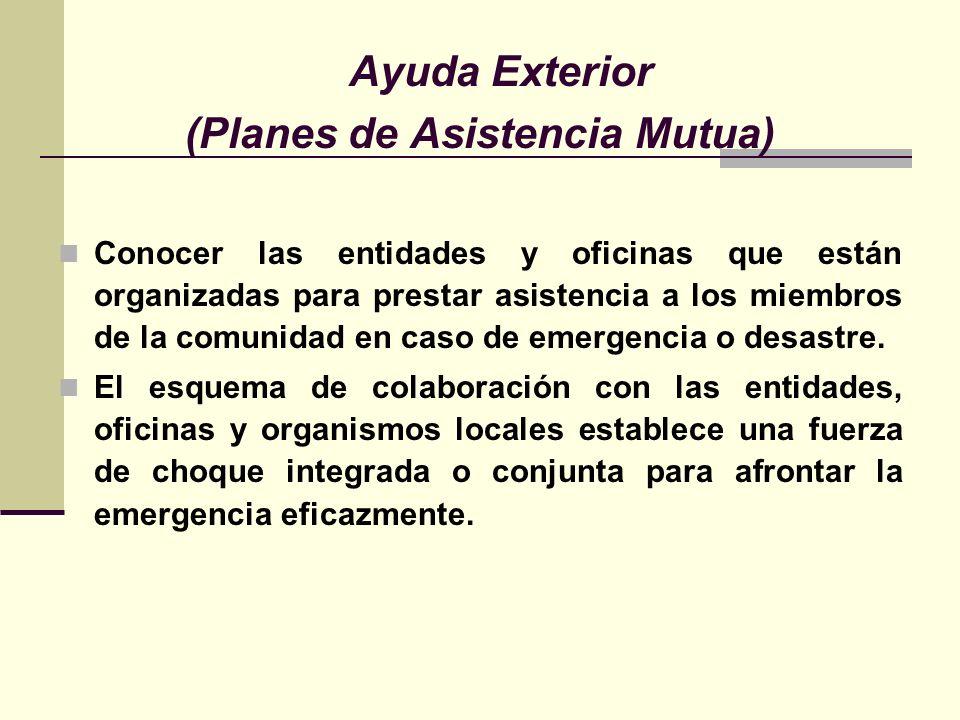 (Planes de Asistencia Mutua)