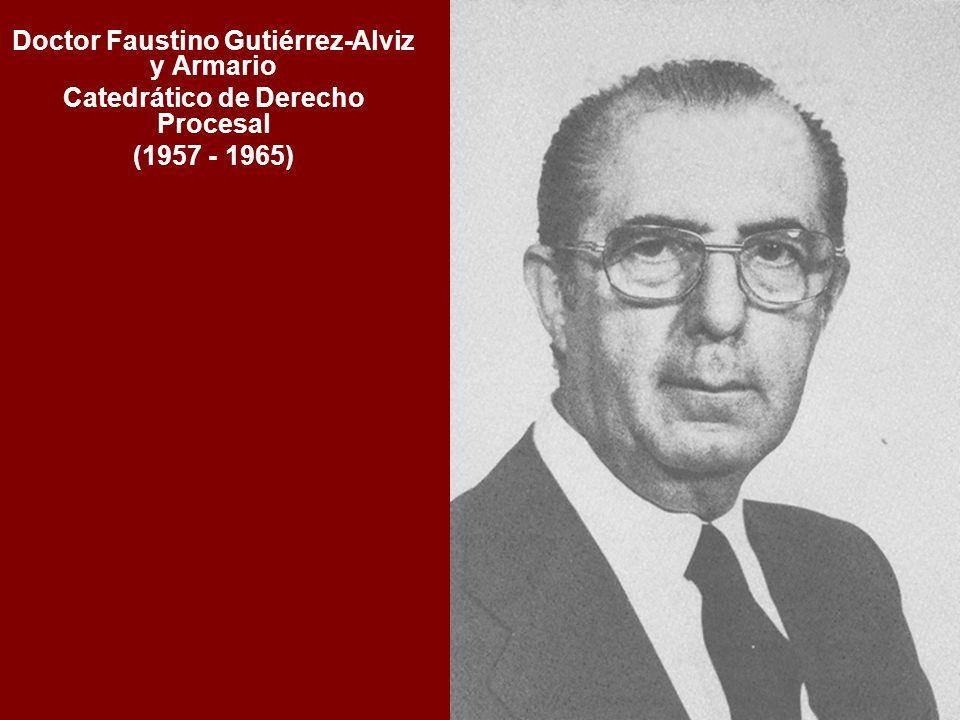 Doctor Faustino Gutiérrez-Alviz y Armario