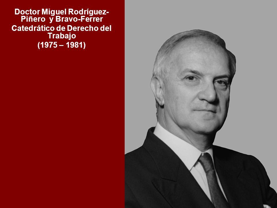 Doctor Miguel Rodríguez- Piñero y Bravo-Ferrer