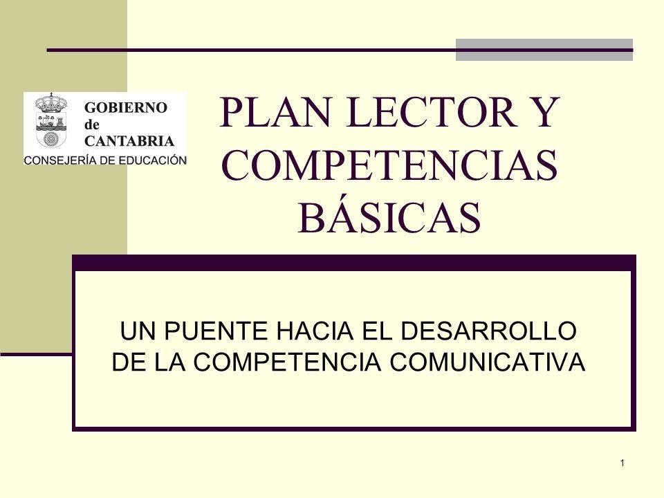 PLAN LECTOR Y COMPETENCIAS BÁSICAS