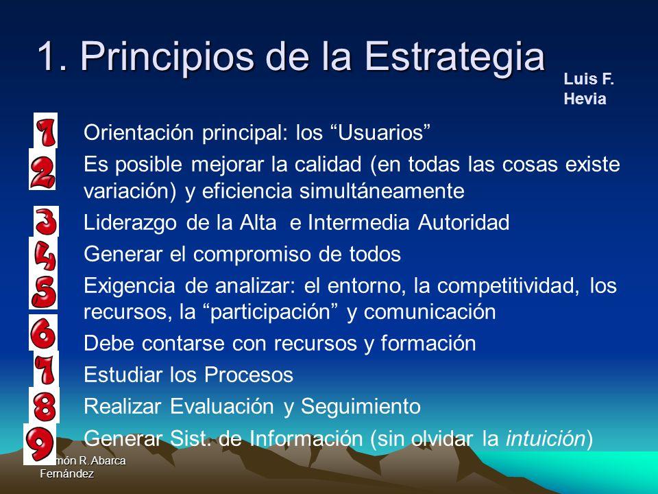 1. Principios de la Estrategia