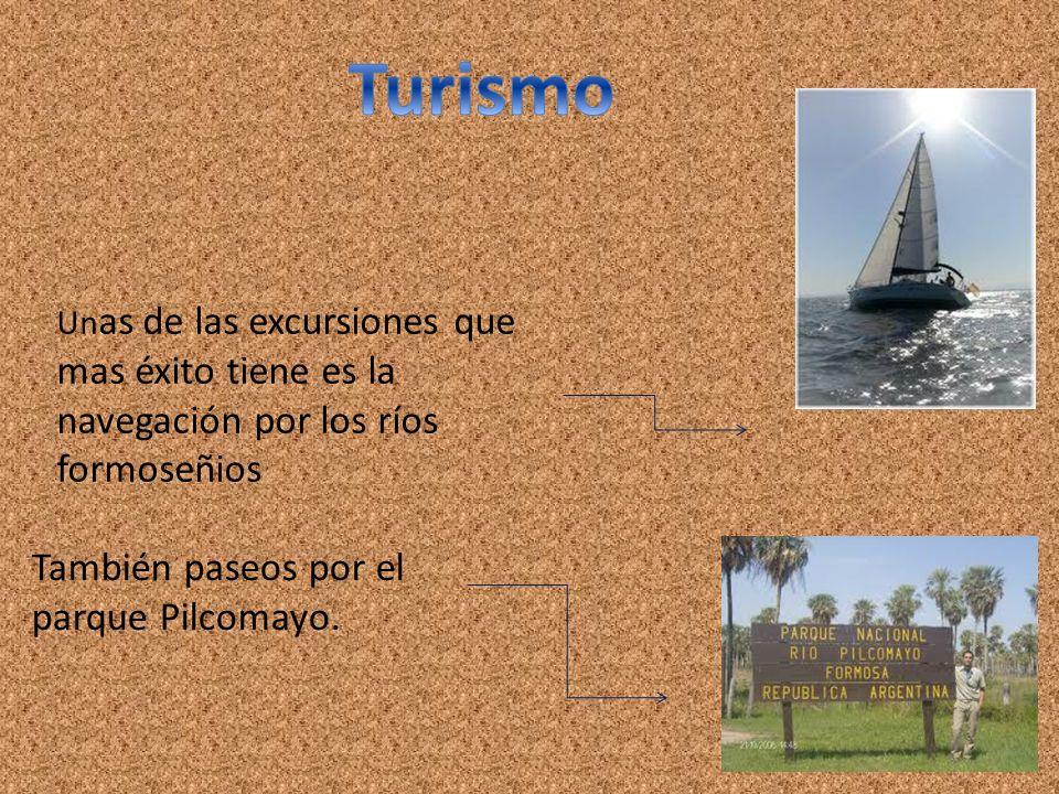 Turismo También paseos por el parque Pilcomayo.