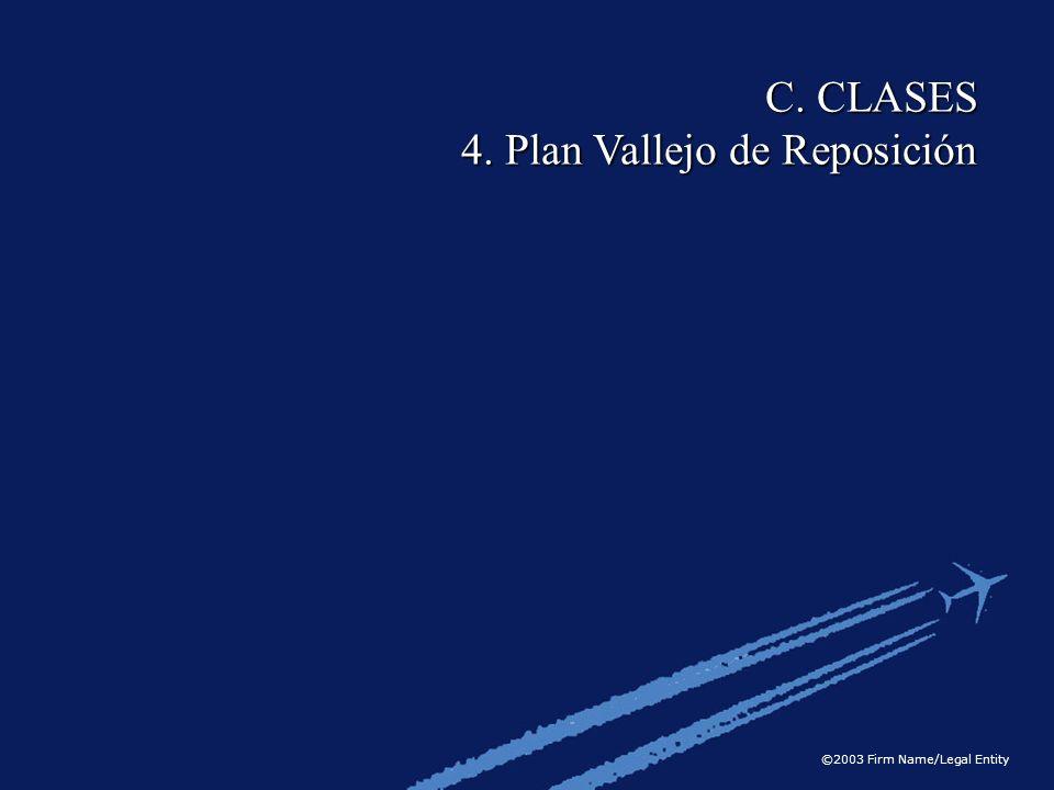 C. CLASES 4. Plan Vallejo de Reposición