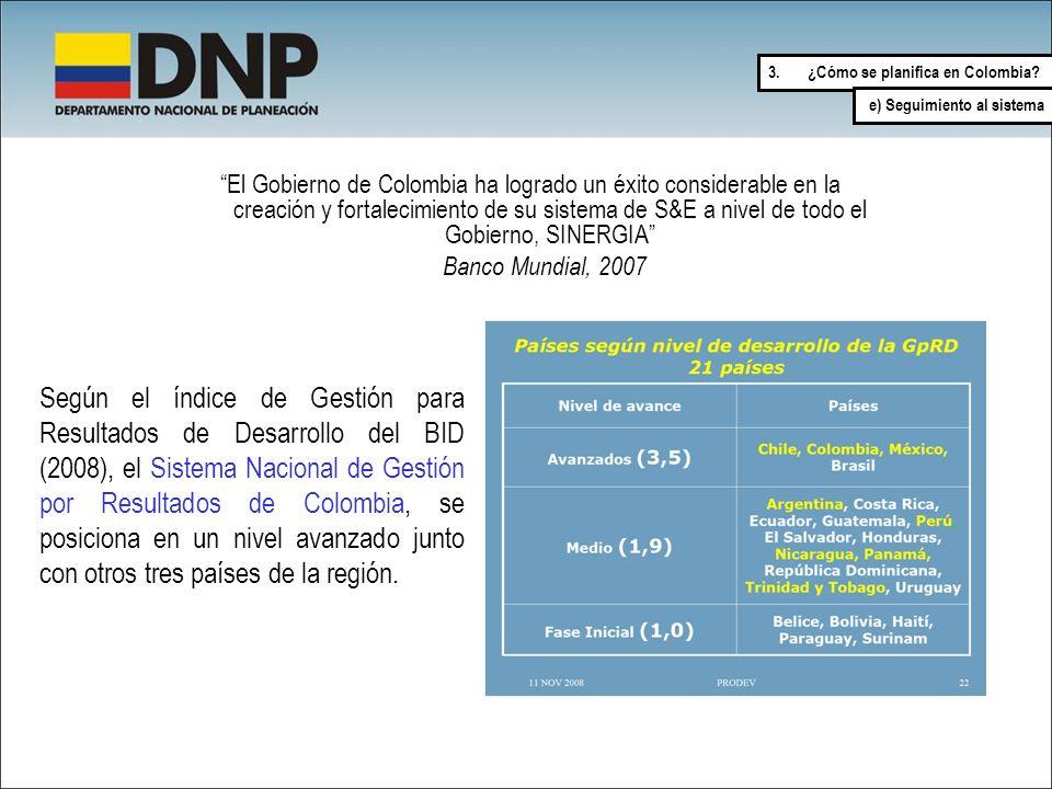 ¿Cómo se planifica en Colombia