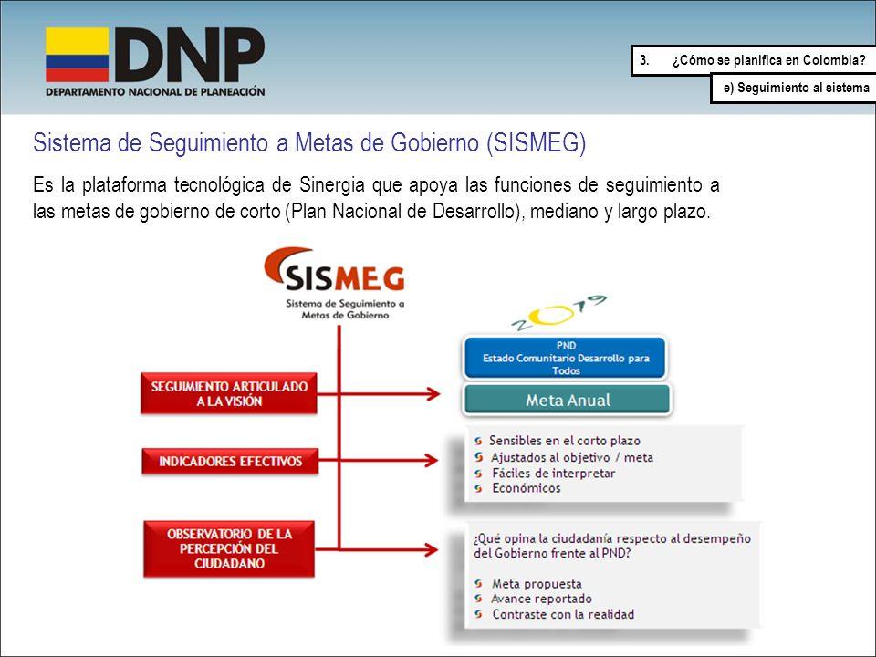 Sistema de Seguimiento a Metas de Gobierno (SISMEG)