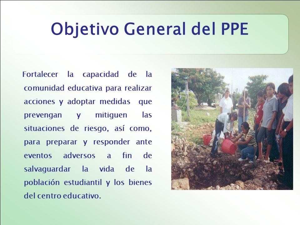 Objetivo General del PPE