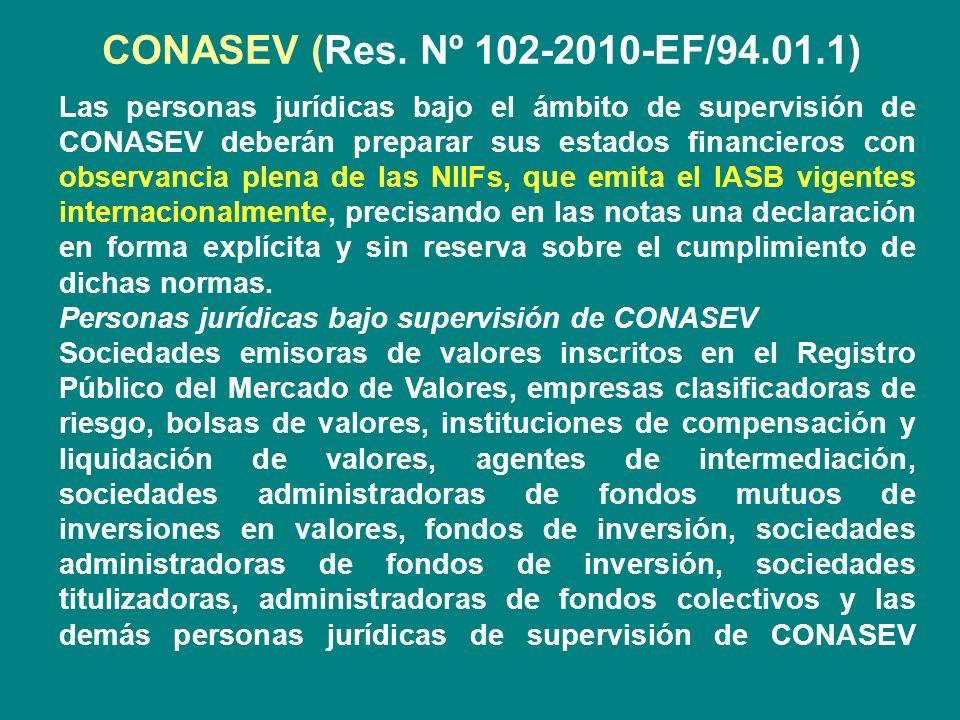 CONASEV (Res. Nº 102-2010-EF/94.01.1)