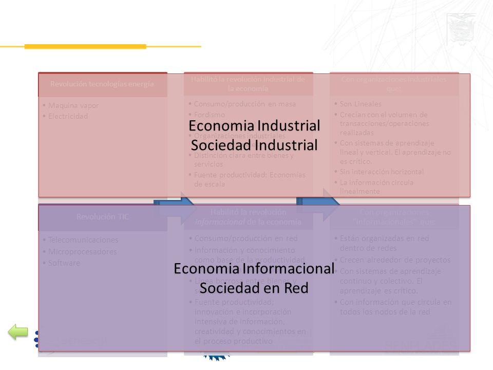 Economia Informacional Sociedad en Red