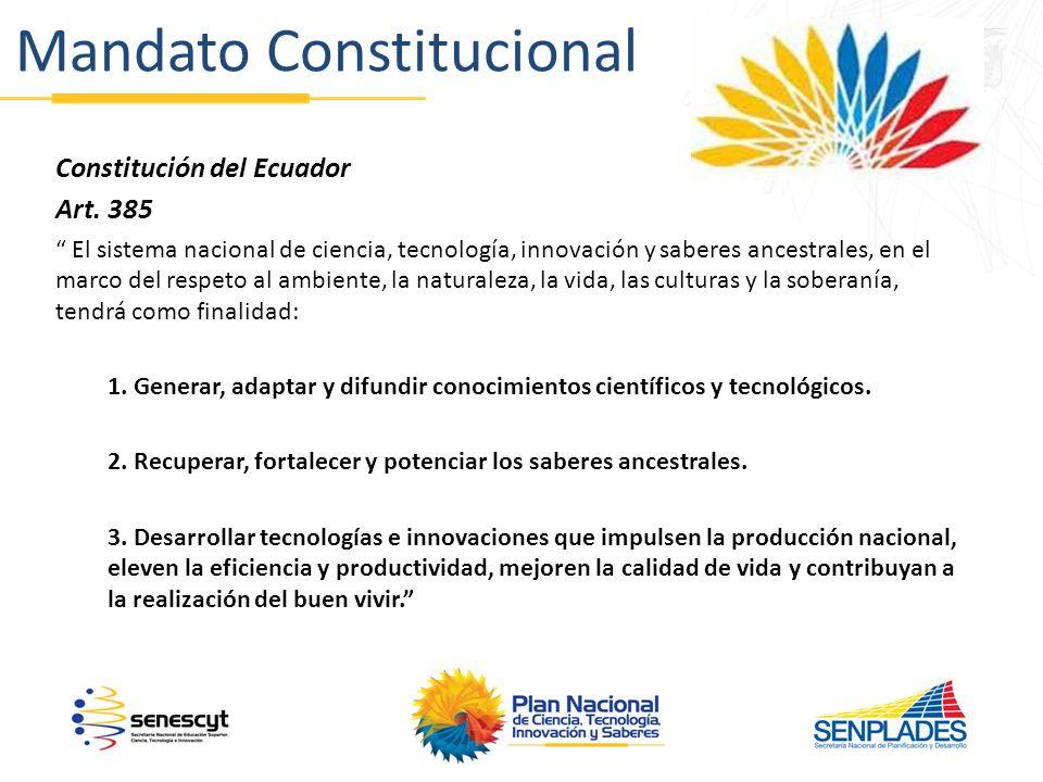 Mandato Constitucional