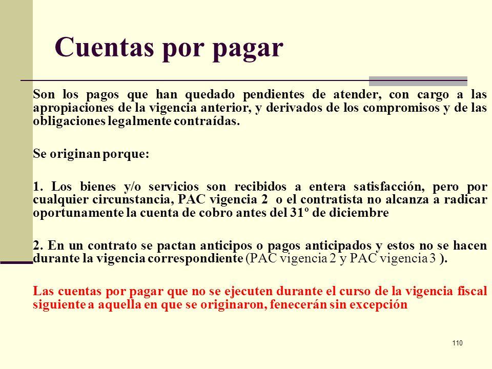 Cuentas por pagar Se originan porque: