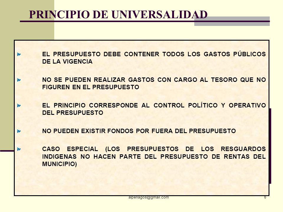 PRINCIPIO DE UNIVERSALIDAD