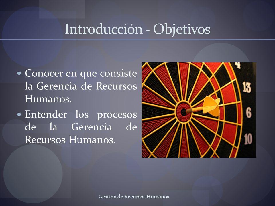 Introducción - Objetivos