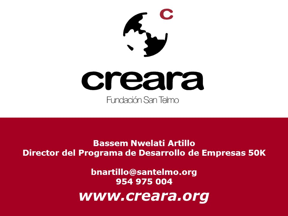 www.creara.org Bassem Nwelati Artillo