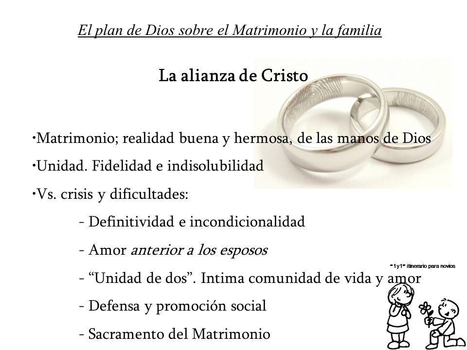 El plan de Dios sobre el Matrimonio y la familia