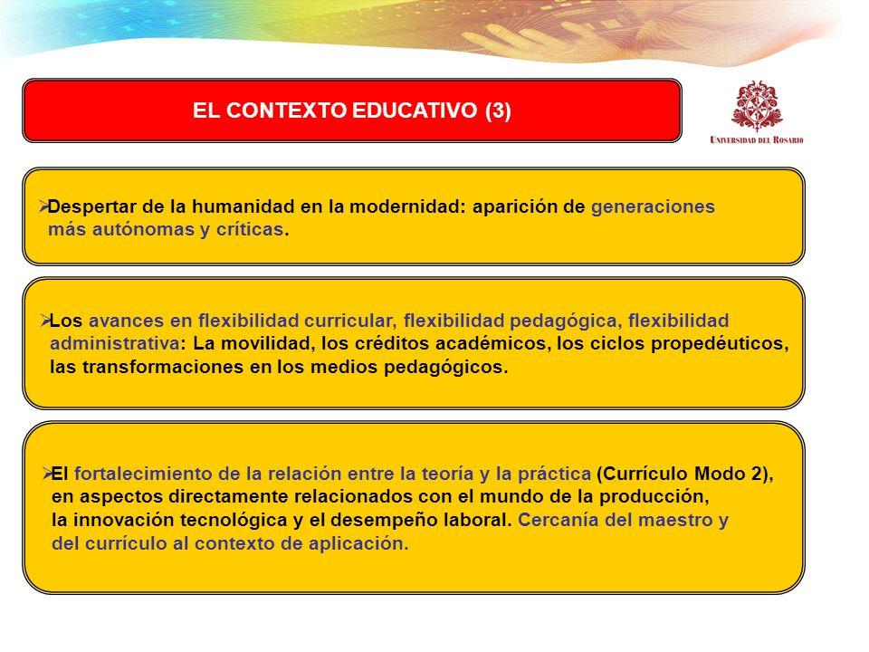 EL CONTEXTO EDUCATIVO (3)